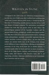 Back Cover of In the Footsteps of Eve by Lee R Berger