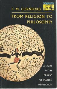 Front Cover of From Religion to Philosophy by F M Cornford