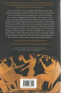 Back Cover of The Gods of Olympus by Barbara Graziosi