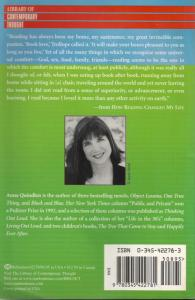 Back cover of How Reading Changed My Life by Anna Quindlen