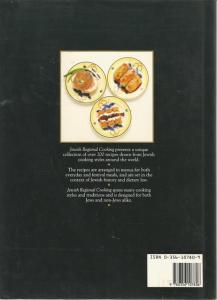 Back Cover of Jewish Regional Cooking by Richard Haase