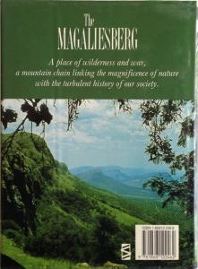 Back cover of The Magaliesberg by Vincent Carruthers