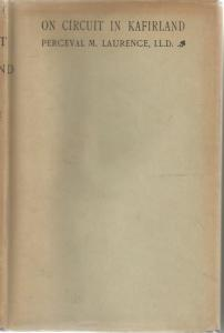 Front cover of On Circuit in Kafirland by Perceval M Laurence