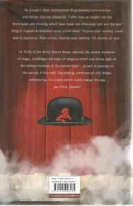 Back cover of Tricks of the Mind by Derren Brown