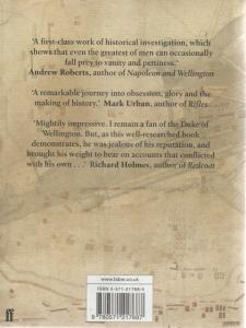 Back Cover of Wellington's Smallest Victory by Peter Hofschroer