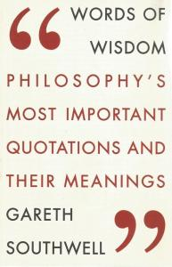 Front Cover of Words of Wisdom by Gareth Southwell