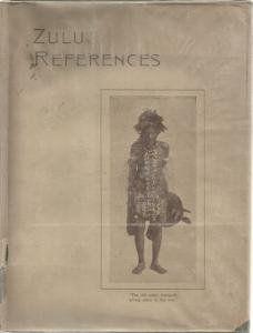 Front Cover of Zulu References by Carl Faye