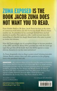 Back Cover of Zuma Exposed by Adriaan Basson