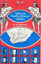 image of Notes on South African Affairs by Boyce, W.B.