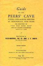 Front cover of Guide to the Peers' Cave by H.S. Jager
