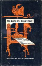 Front cover of The Records of a Pioneer Family by Alfred Essex, William Rabone and Harriet Rabone