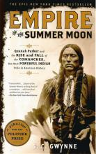 Front cover of Empire of the Summer Moon by S C Gwynne