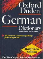 Front Cover of The Oxford-Duden German Dictionary by Oxford Dictionaries