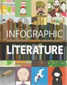 Front cover of Infographic Guide to Literature by Joanna Eliot
