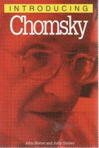 Front Cover of Introducing: Chomsky by John Maher and Judy Groves