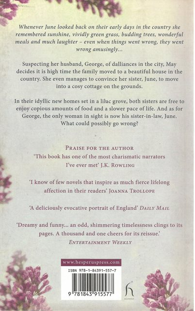 Back cover of A Tale of Two Families by Dodie Smith