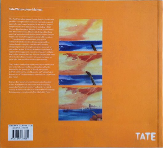 Back cover of Tate Watercolour Manual by Tony Smibert and Joyce H Townsend