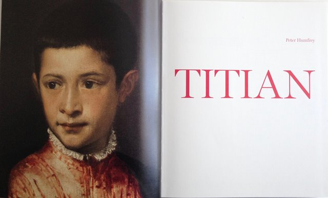 Title page of Titian by Peter Humfrey