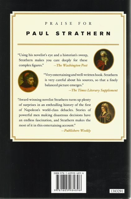 Back cover of The Venetians by Paul Strathern