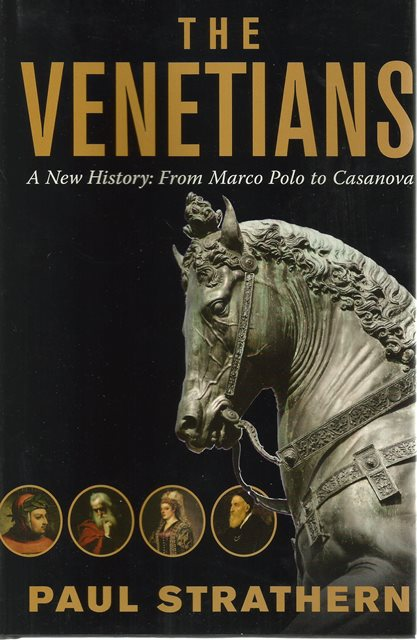 Front cover of The Venetians by Paul Strathern