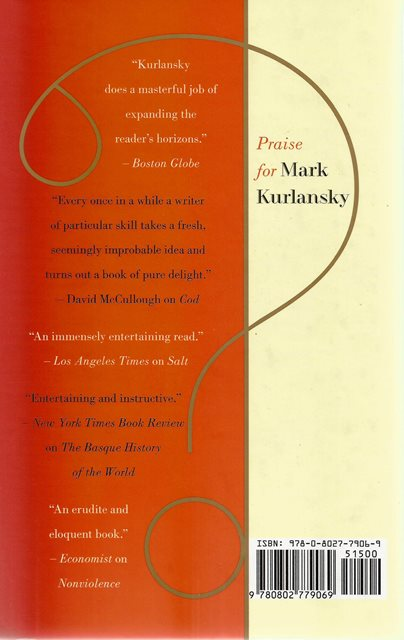 Back cover of What? by Mark Kurlansky