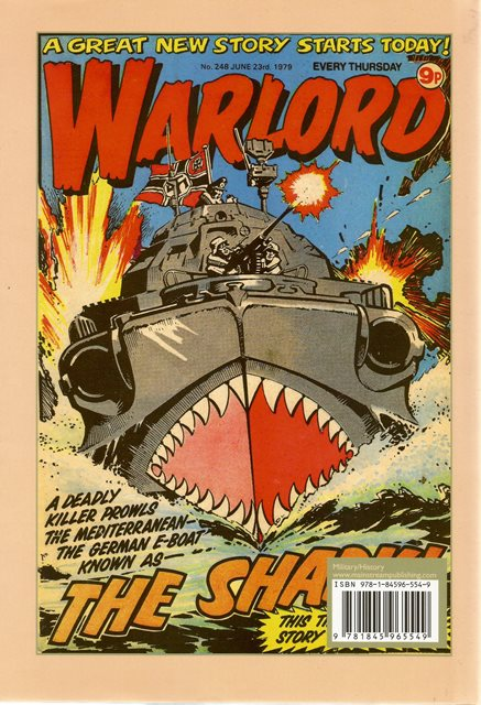 Back cover of When the Comics Went to War by Adam Riches