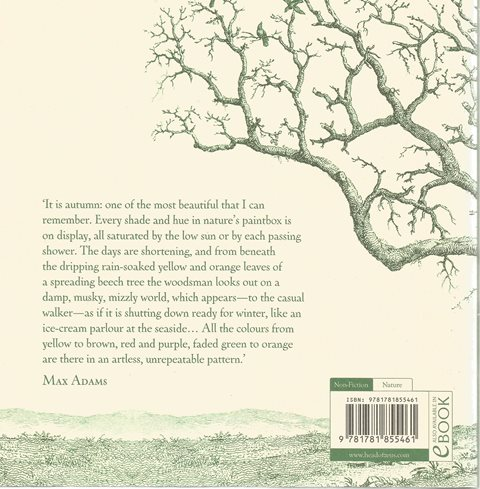 Back cover of The Wisdom of Trees by Max Adams