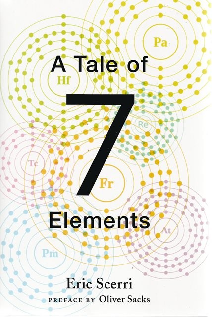 Front cover of A Tale of Seven Elements by Eric Scerri