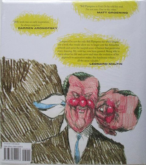 Back cover of Independently Animated: Bill Plympton by Bill Plimpton