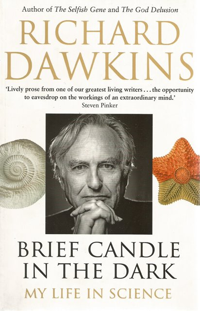 Front cover of Brief Candle in the Dark by Richard Dawkins