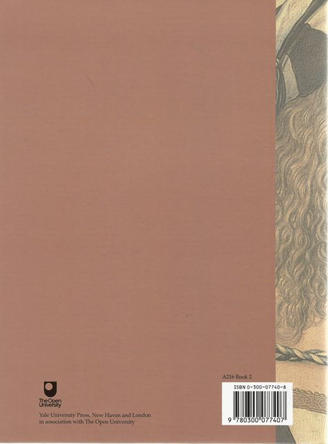 Back cover of The Changing Status of the Artist by Emma Barker etal