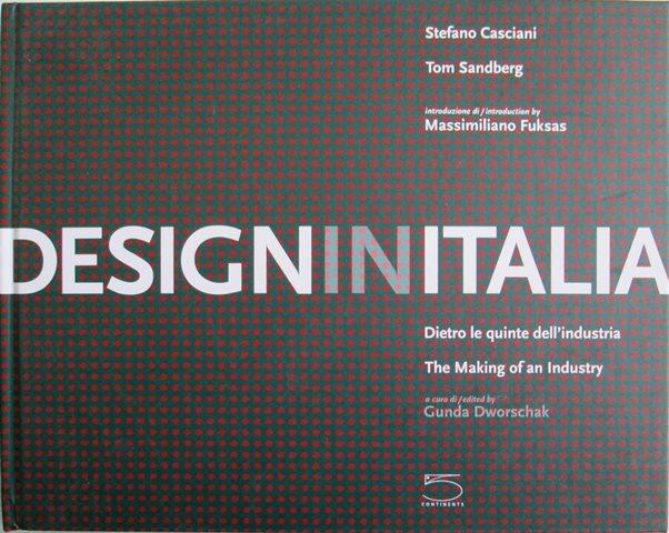 Front cover of Design in Italia by Stefano Casciani