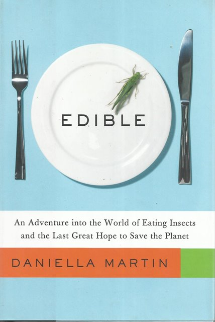 Front cover of Edible by Daniella Martin
