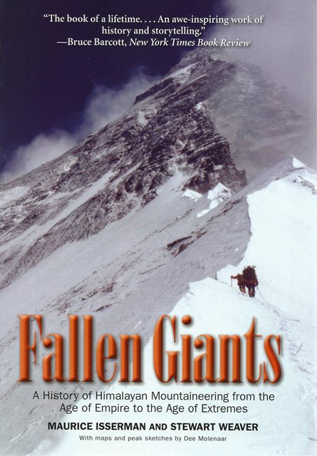 Front cover of Fallen Giants by Maurice Isserman and Stewart Weaver