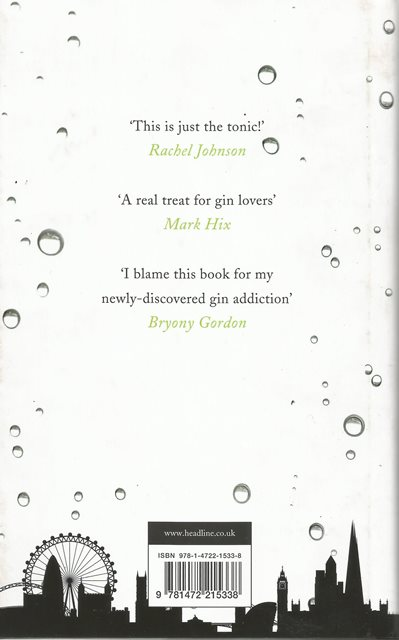 Back cover of Gin Glorious Gin by Olivia Williams