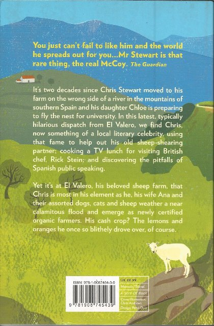 Back cover of Last Days of the Bus Club by Chris Stewart