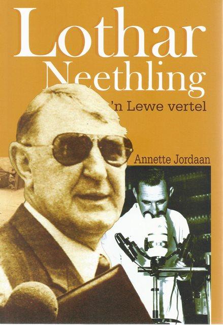 Front cover of Lothar Neethling deur Annette Jordaan
