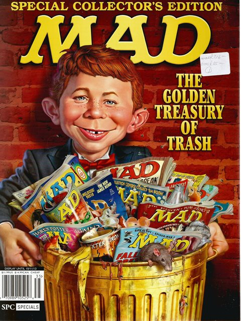 Front cover of Mad edited by John Ficarra