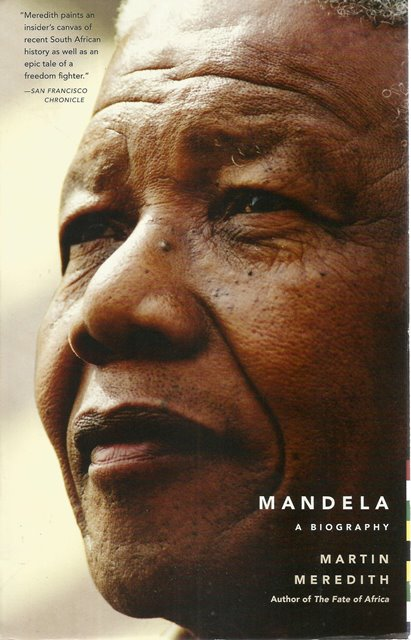 Front cover of Mandela by Martin Meredith