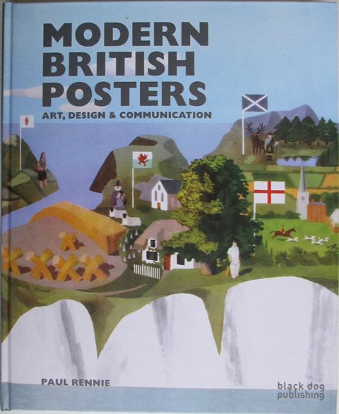 Front cover of Modern British Posters by Paul Rennie