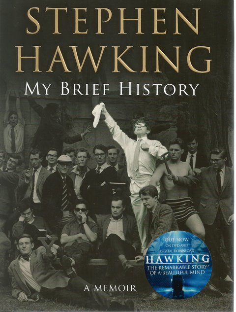 Front cover of My Brief History by Stephen Hawking