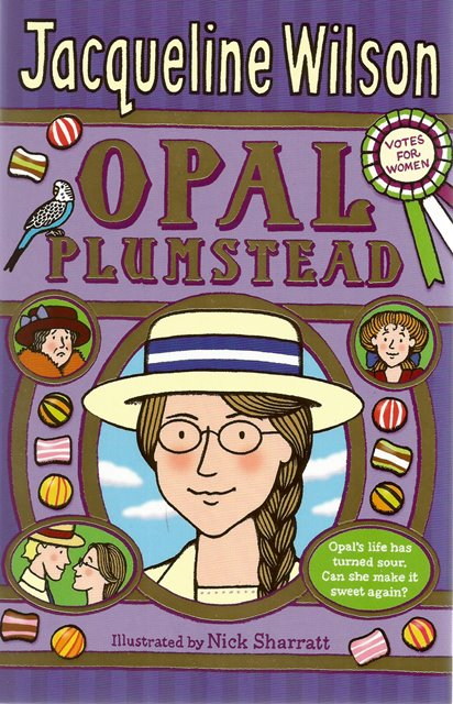 Front cover of Opal Plumstead by Jacqueline Wilson