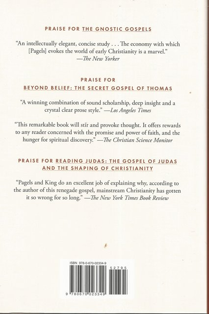 Back cover of Revelations by Elaine Pagels