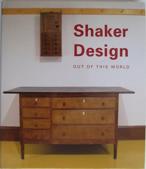 Front cover of Shaker Design edited by Jean M Burks