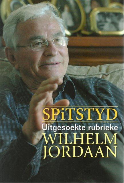 Front cover of Spitstyd deur Wilhelm Jordaan