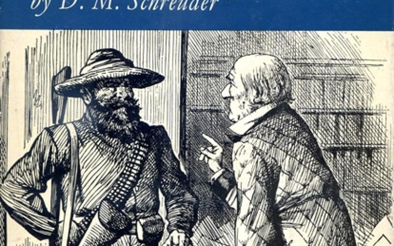 Front cover of Gladstone and Kruger by D. M. Schreuder