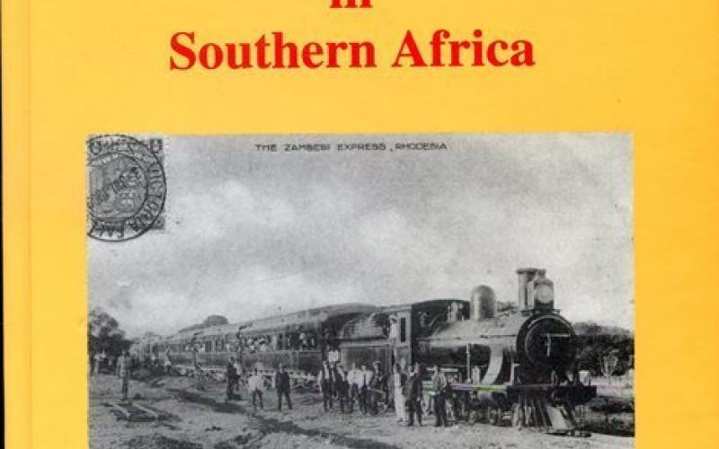 Front cover of Historical Railways Postcard Journeys in Southern Africa by D. Rhind and M. Walker
