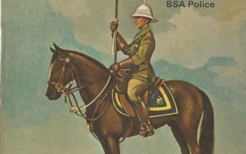 Front Cover of The Regiment :The History and Uniform of the BSA Police by R Hamley