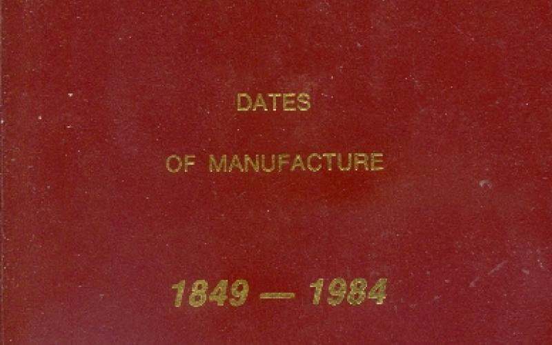 Front cover of Winchester: Dates Of Manufacture 1849-1984 by George Madis