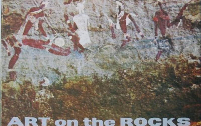Front cover of Art on the Rocks of Southern Africa by D.N. Lee & H. C. Woodhouse